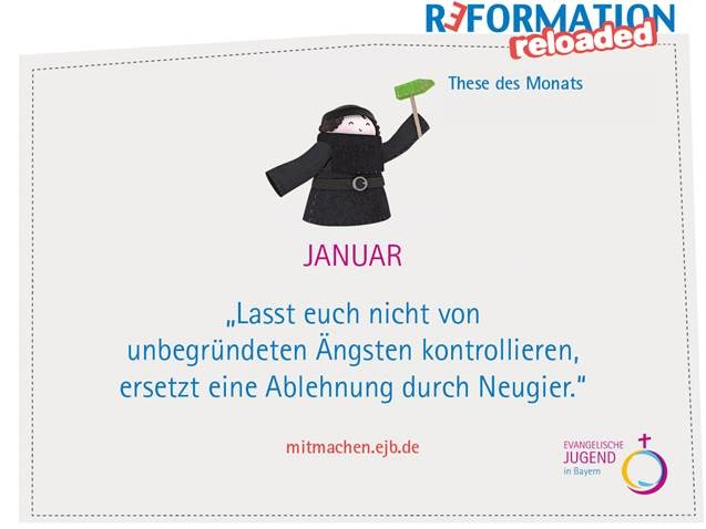 Reformation Reloaded – These des Monats Januar